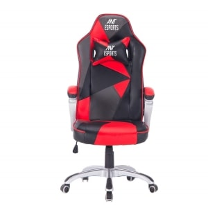 gaming chair with flip up arms