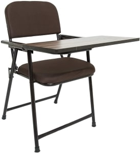 Study Chair For Students With Writing Pad