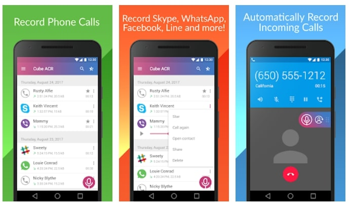 apps to record WhatsApp video call